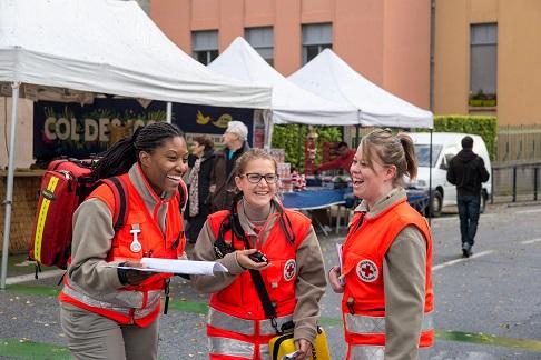 Secouriste - Croix-Rouge française - Voiron (38)