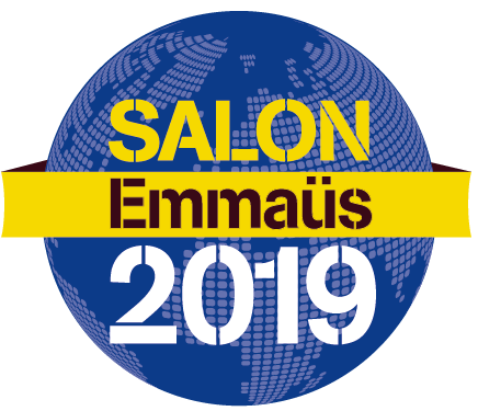 Participez au Salon Emmaüs, grande vente de solidarité internationale.