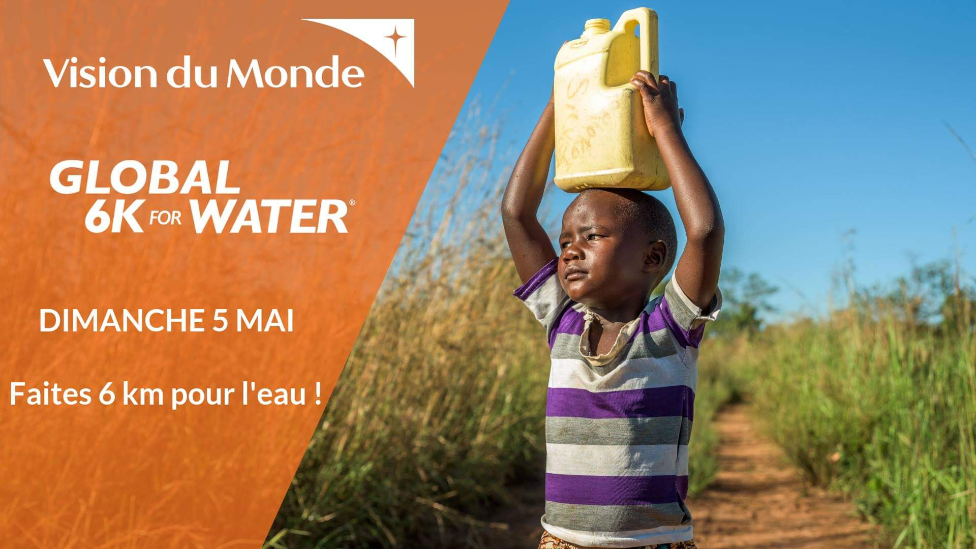 Animation pour notre course solidaire, la Global 6K for Water