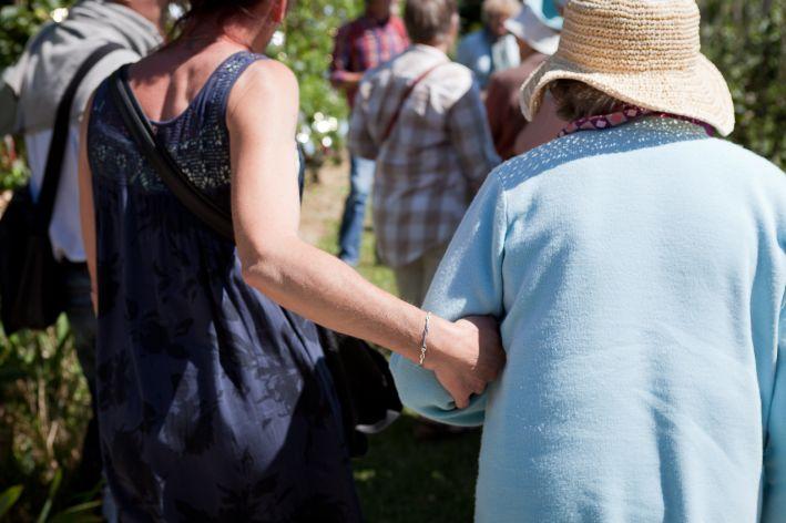 Accompagnement relationnel de personnes âgées par des visites à domicile, Marignier
