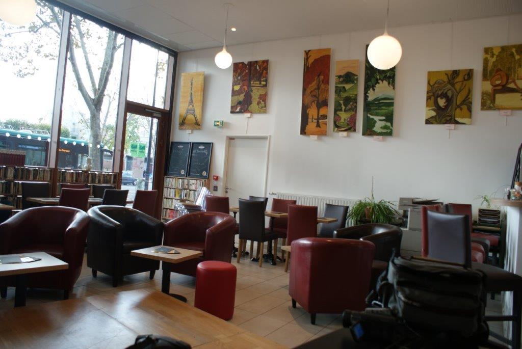 Animer et tenir un café social Paris 13