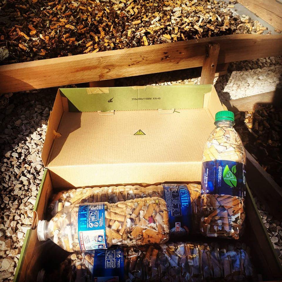 Collecte et Recyclage des mégots de cigarettes