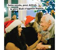 Bénévolat ponctuel lors des fêtes de Noël pour rompre l'isolement de personnes âgées