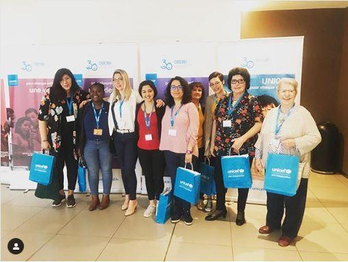 Des missions pour la cause des enfants avec l'Unicef dans la Loire