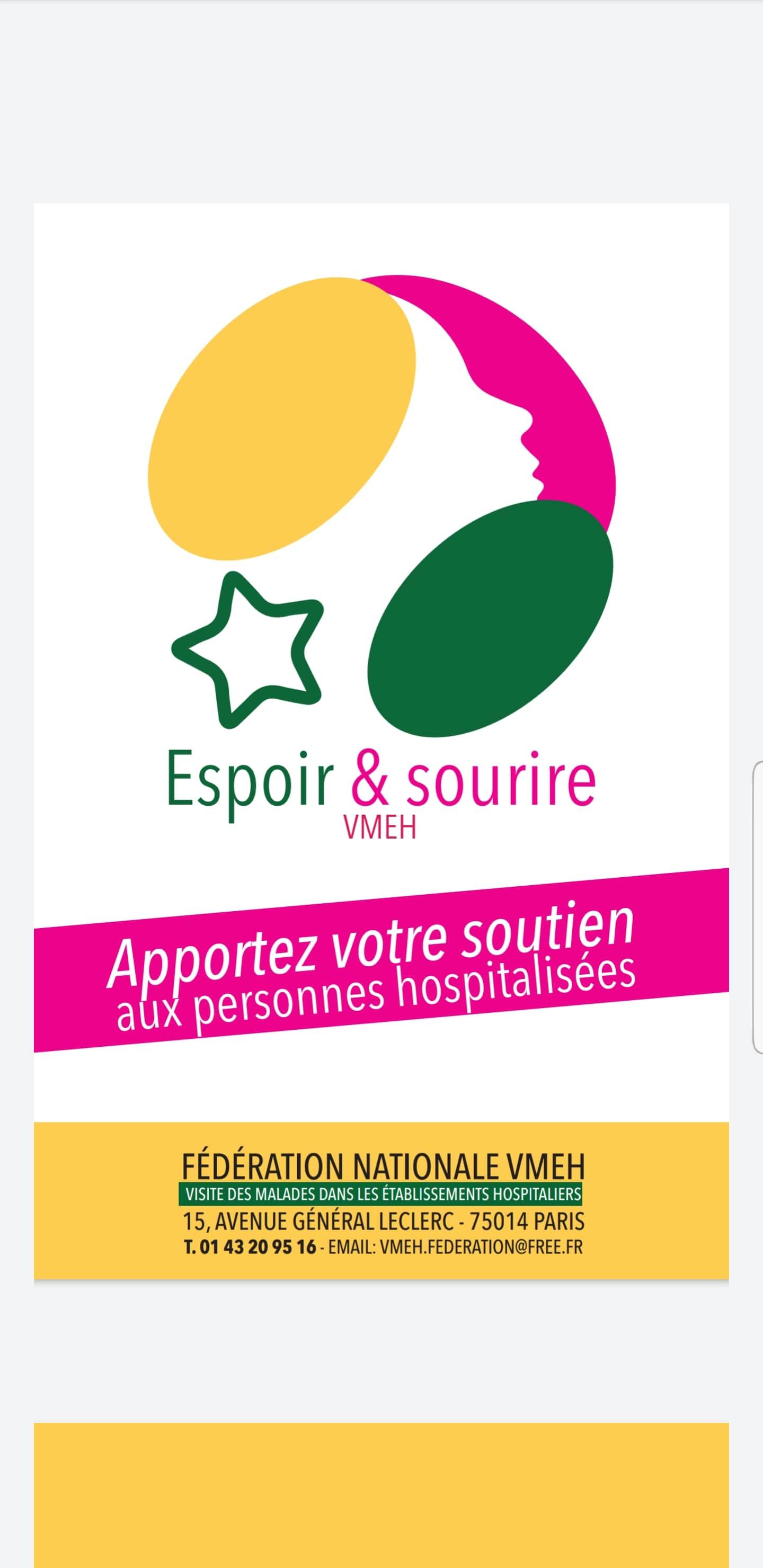 Visiteurs à l'hôpital de St Nazaire