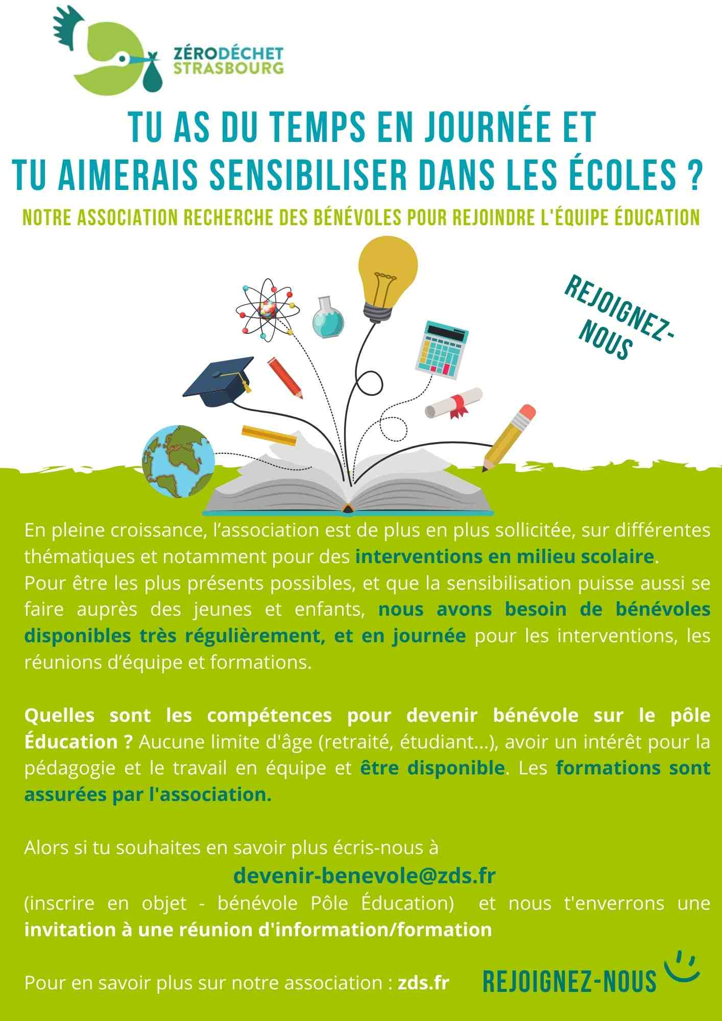 Sensibiliser à la réduction des déchets en milieu scolaire