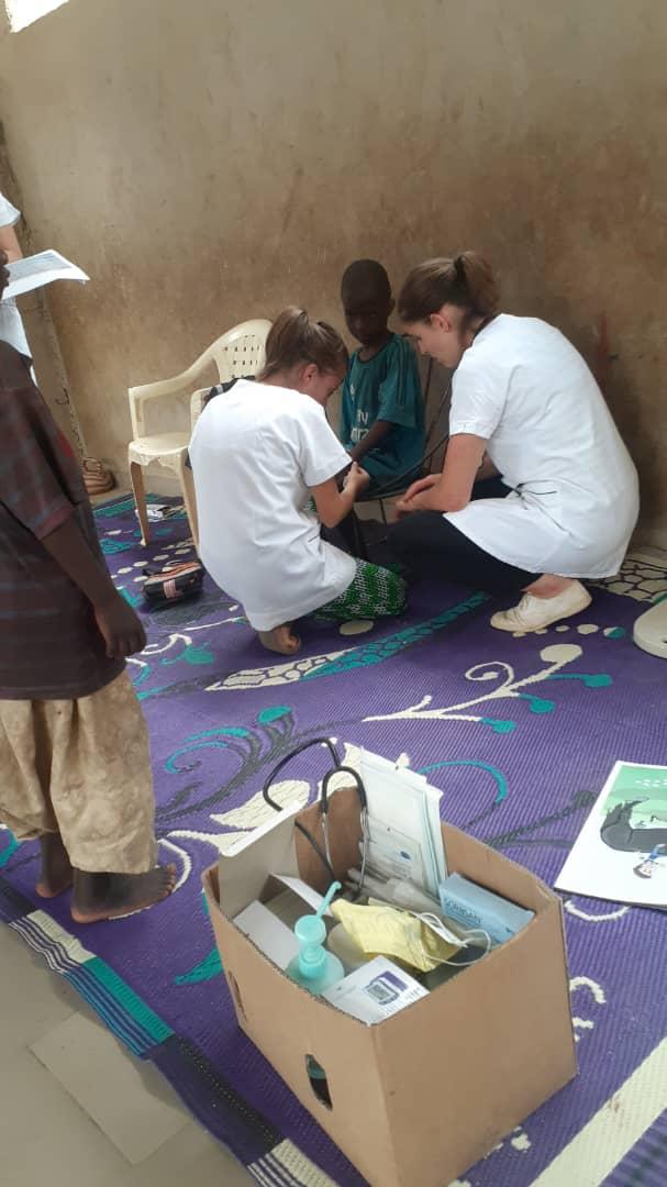 Bénévoles de la santé pour le Sénégal