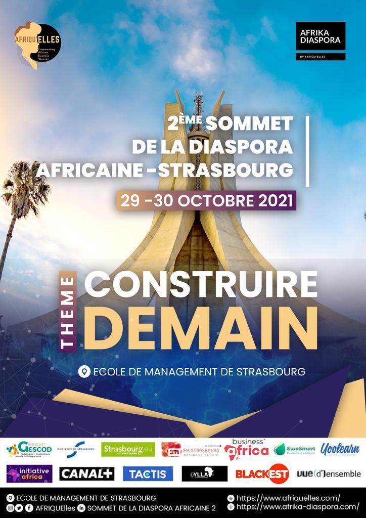 Bénévoles pour l'évènement : Sommet de la Diaspora Africaine des 29 et 30 octobre 2021