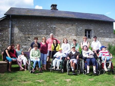 Cuisinier pendant les vacances de Noël, pour petit groupe de personnes avec handicap en vacances dans la Creuse